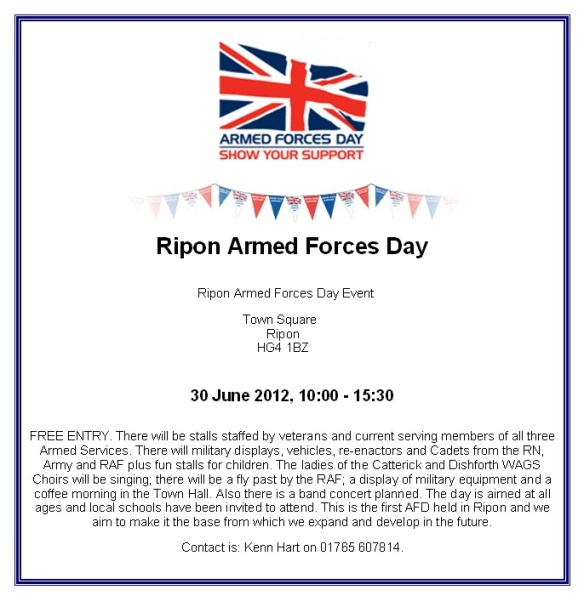 Armed Forces Day Ripon