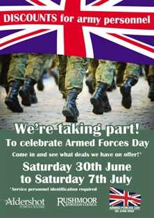 Rushmoor Armed-Forces-Poster