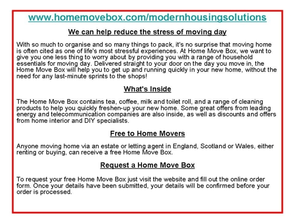 home movers pack
