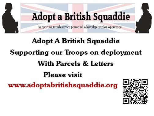 Adopt a British Squaddie