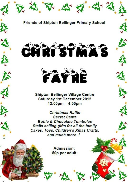 Shipton Bellinger Christmas Fayre
