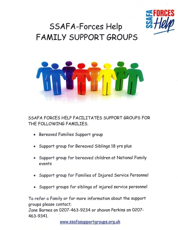 SSAFA Family Support Groups