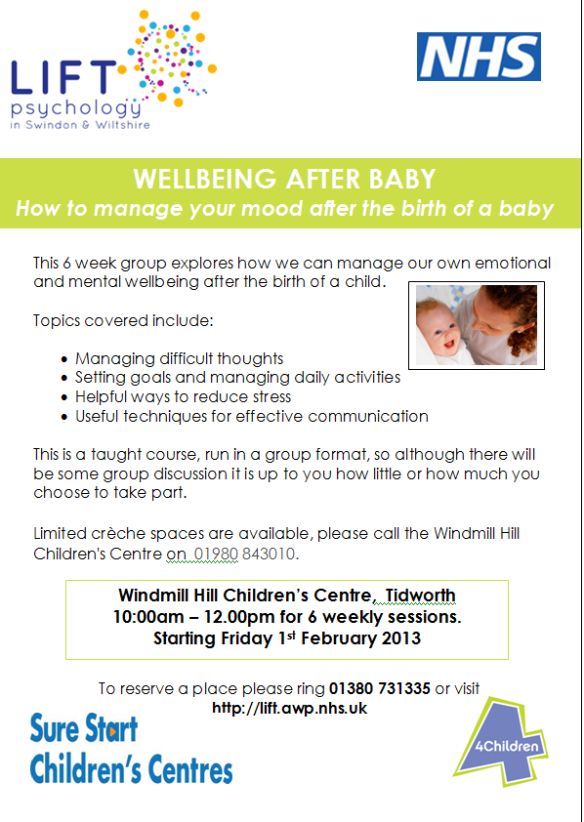 Wellbeing after Baby