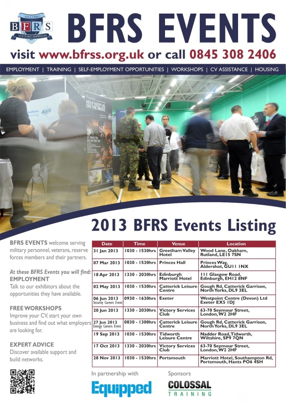 BFRS Events 2013