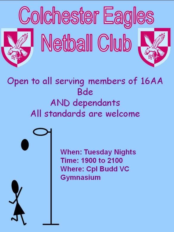Netball Poster