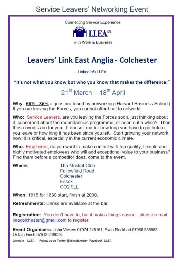 Leavers link march