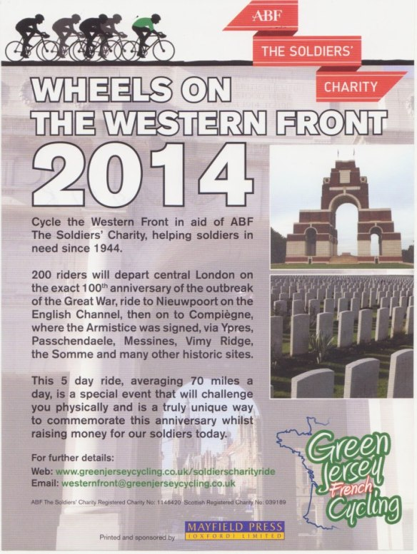 Wheels on the Western Front ABF