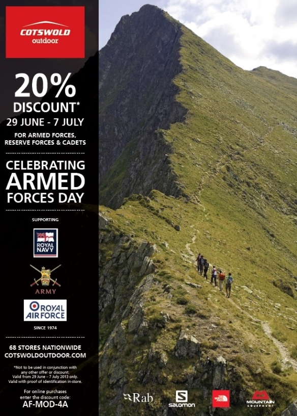 cotswold discount AFD