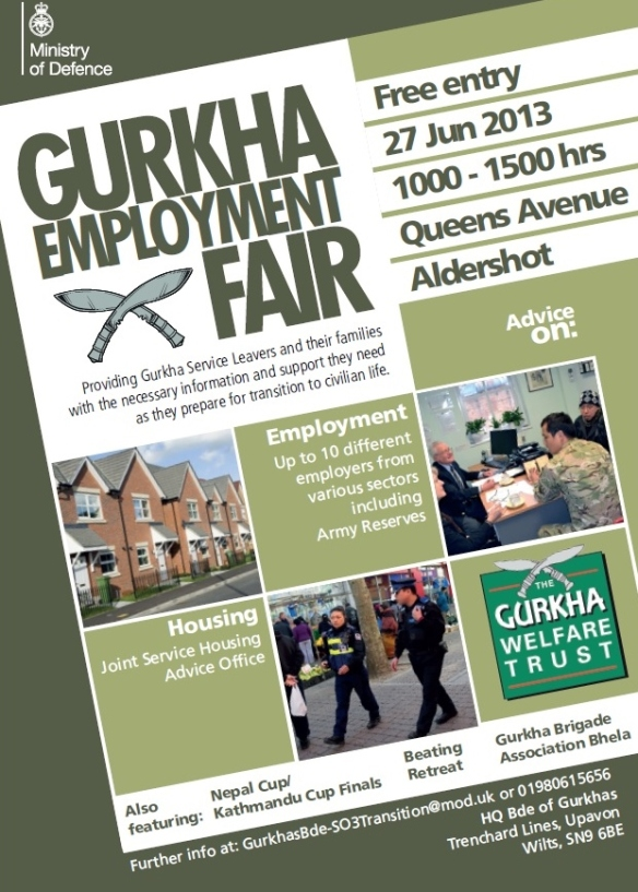 Gurkha Employment Fair