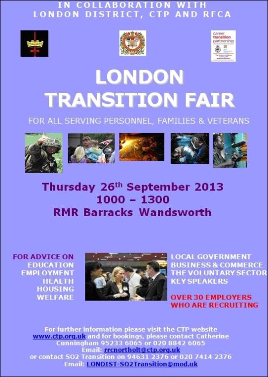 London Transition Fair
