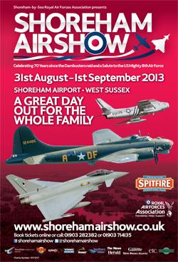 Shoreham Airshow 2013 Poster