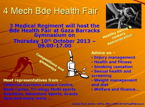 4 mech health fair