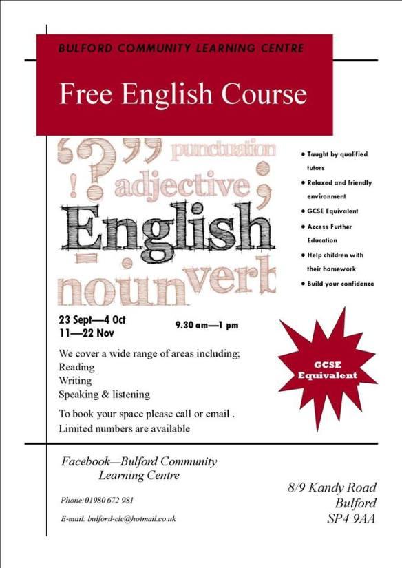 Free English course