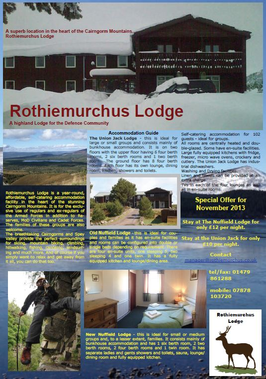 Highland Lodge Sep 13